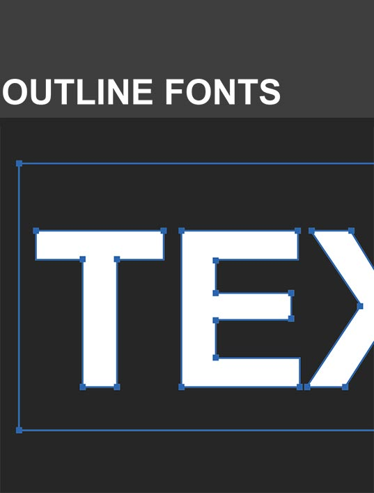 Outline Fonts
