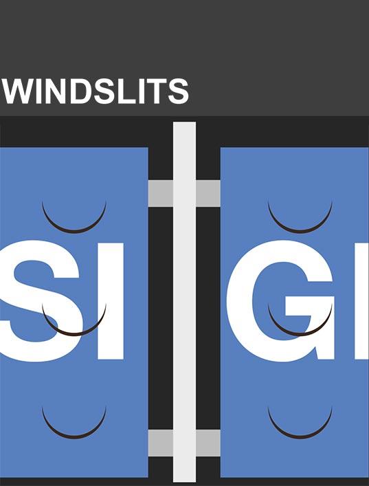 Windslits