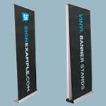 Vinyl Banner Stands