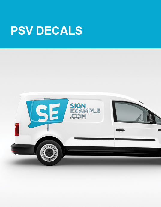 PSV Decal Products