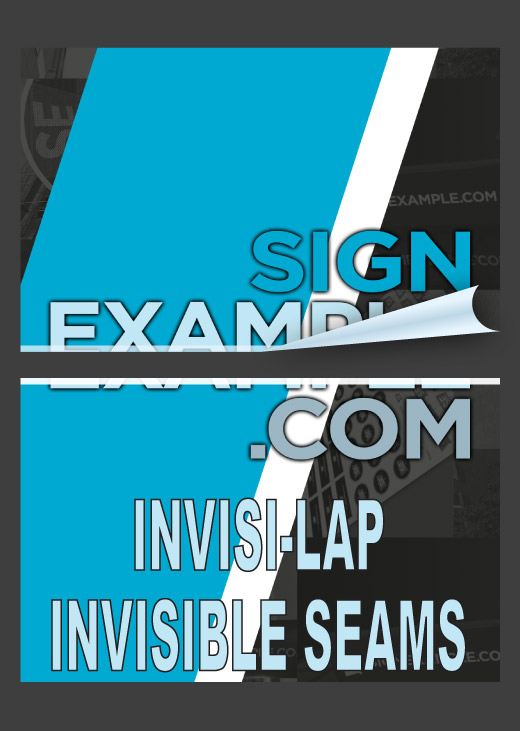 Backlit Decals - Invisi-Lap Invisible Seams