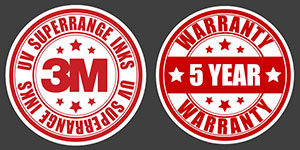 3M Inks & Warranty Badges