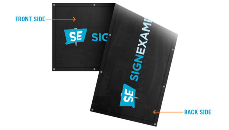 Outdoor Double Sided Banners