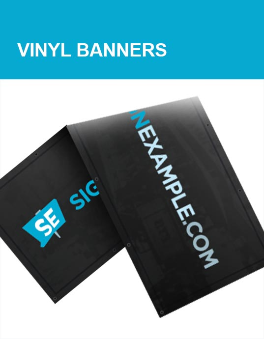 Vinyl Banner Products