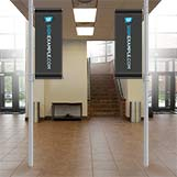 Indoor Pole Banners
