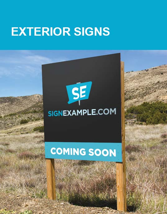 Exterior Sign Products
