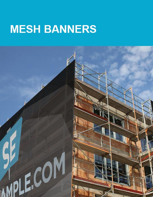 Mesh Banner Products