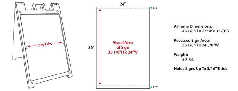 A Frame Sign Diagram