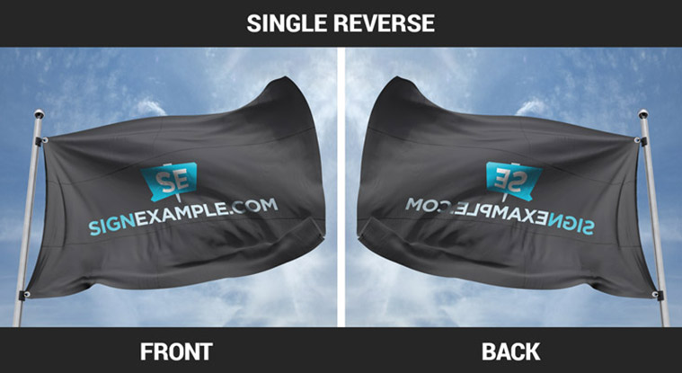 Custom Flags Single Reverse