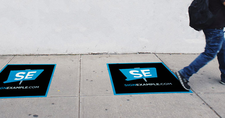 Pavement & Sidewalk Decals